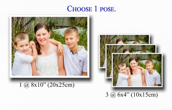 Single Sibling Print Package